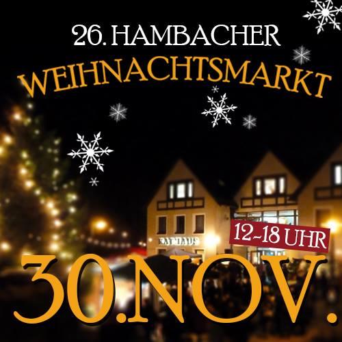 26. Hambacher Weihnachtsmarkt